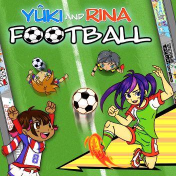 Yûki and Rina Football